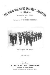 The 43rd & 52nd Light Infantry Chronicle, 1894: Volume 3