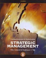 Strategic Management Cases  Competitiveness and Globalization PDF