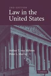 Law in the United States: Edition 2