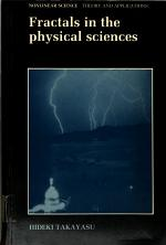 Fractals in the Physical Sciences
