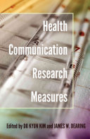 Health Communication Research Measures PDF