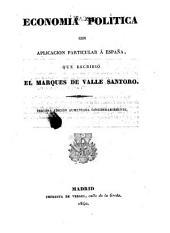 Economía política, con aplicacion particular á España