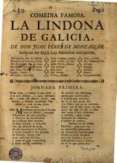 Comedia famosa, La lindona de Galicia