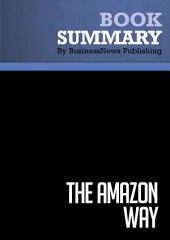Summary: The Amazon Way: Review and Analysis of Rossman's Book