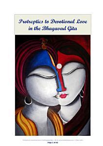 Protreptics to Devotional Love in the Bhagavad Gita Book