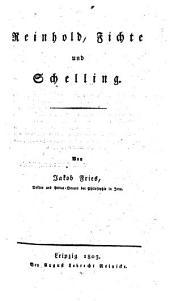 Reinhold, Fichte, Schelling