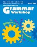 Grammar Workshop  Teacher annotated book  with answer key