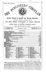 Publishers  circular and booksellers  record PDF