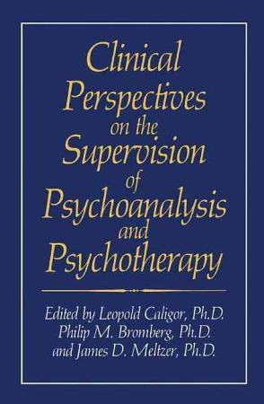 Clinical Perspectives on the Supervision of Psychoanalysis and Psychotherapy PDF