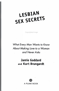 Lesbian Sex Secrets for Men PDF
