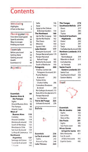 Footprint South American Handbook 2008