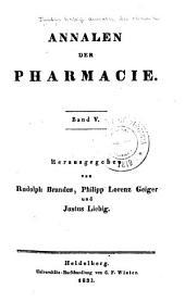 Justus Liebig's Annalen der Chemie: Bände 5-6