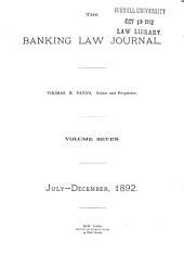 The Banking Law Journal: Volume 7