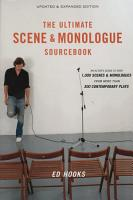 The Ultimate Scene and Monologue Sourcebook  Updated and Expanded Edition PDF