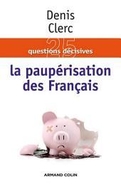 La paupérisation des Français