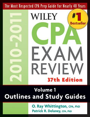 Wiley CPA Examination Review  Outlines and Study Guides PDF