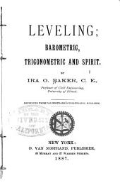 Leveling: Barometric, Trigonometric and Spirit
