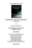 Handbook for Jailhouse Lawyers
