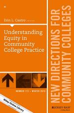 Understanding Equity in Community College Practice