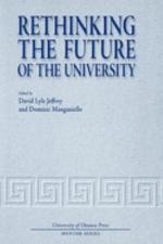Rethinking the Future of the University