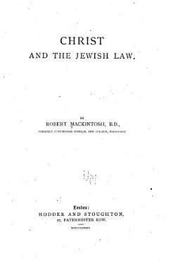 Christ and the Jewish Law PDF
