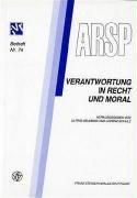 Verantwortung in Recht und Moral PDF