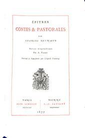 Épîtres: Contes et pastorales