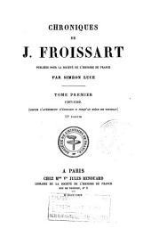 1307-1340 (depuis l'avénement d'Édouard II jusqu'au siége de Tournay)