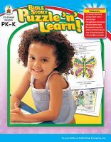 Bible Story Puzzle    n    Learn   Grades PK   K PDF