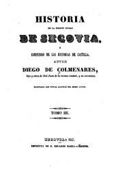 Historia de la insigne ciudad de Segovia, y compéndio de las historias de Castilla: Volumen 3