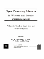 Signal Processing Advances in Wireless and Mobile Communications  Trends in single user and multi user systems PDF
