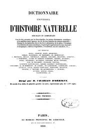 Dictionnaire universel d'histoire naturelle: Volume1