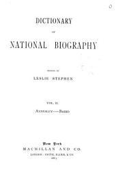 Dictionary of National Biography: Volume 2