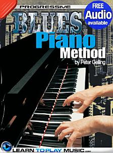 Blues Piano Lessons for Beginners Book