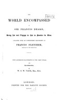 The World Encompassed by Sir Francis Drake PDF