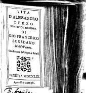 Vita D'Alessandro Terzo Pontefice Massimo