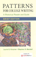 Patterns for College Writing  Brief Edition with 2016 MLA Update