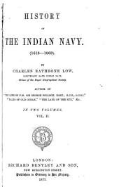 History of the Indian Navy: (1613-1863)