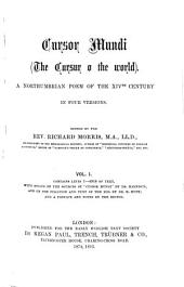 Cursor Mundi (The Cursur O the World): A Northumbrian Poem of the XIVth. Century .... Parts 6, 7