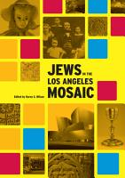 Jews in the Los Angeles Mosaic PDF