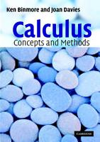 Calculus  Concepts and Methods PDF