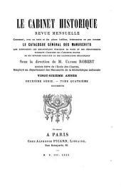Le Cabinet historique: Volume26