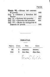 El derecho al alcance de todos: El prestamo. 1877. La fianza y la prenda. 1879