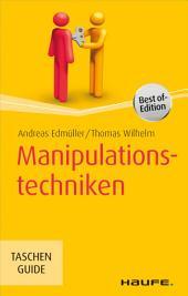 Manipulationstechniken: TaschenGuide