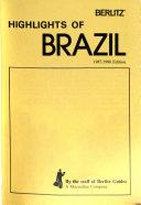 Highlights of Brazil Travel Guide