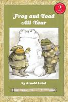 Frog and Toad All Year PDF