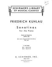 Sonatinas for the piano: Op. 88, no. 1-4; op. 60, no. 1-3