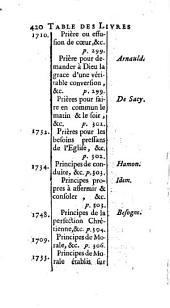 Dictionnaire des livres Jansénistes ou qui favorisent le Jansénisme: Volume 4