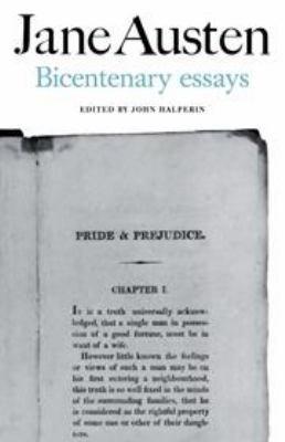 Jane Austen  Bicentenary Essays