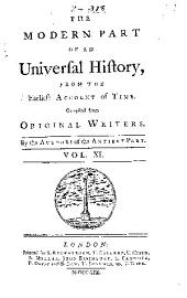 An Universal history, from the earliest account of time: Volume 32